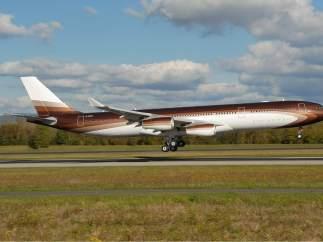 Uno de los mejores aviones privados