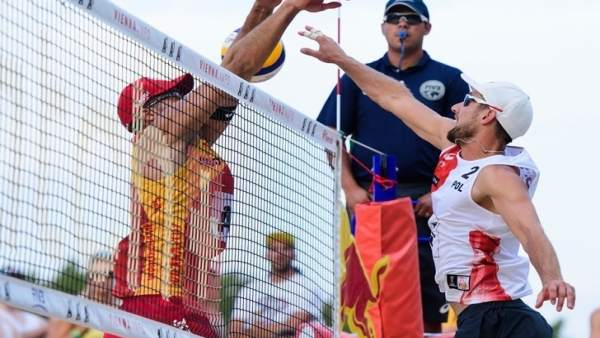 Pablo Herrera y Adrián Gavira Mundial Voley playa