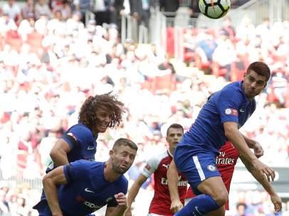 Morata, con el Chelsea