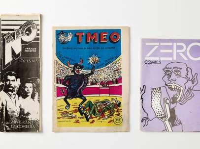 Fanzines en el IVAM