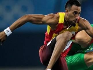 El atleta español Orlando Ortega