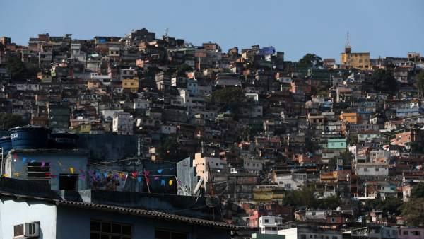 Favela, Río de Janeiro, Brasil