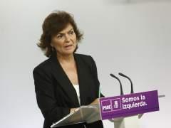 El PSOE apoya que Interior coordine a los Mossos el 1-O