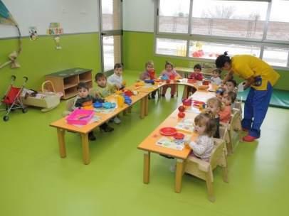 Escuela municipal infantil del Ayuntamiento de Madrid