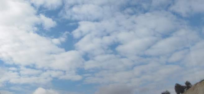 Sol y nubes en España