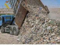 Operación contra el tráfico de residuos