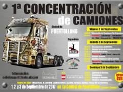 Concentración de camiones