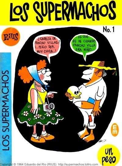 Muere el caricaturista Eduardo del Río 'Rius', uno de los decanos del cómic mexicano