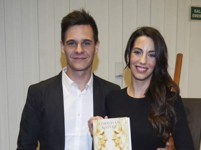 Almudena Cid y Christian Gálvez