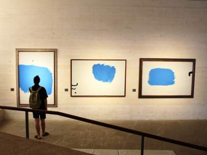 Una de las salas de la exposición 'Miró mai vist (Miró nunca visto)'
