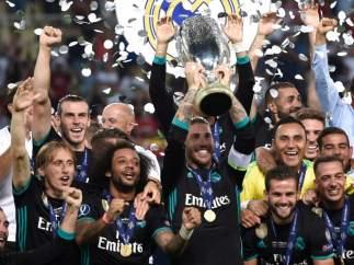 El Madrid conquista la Supercopa de Europa