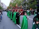 Semana Santa. Procesiones. Santander. Cofradías. Cofrades.