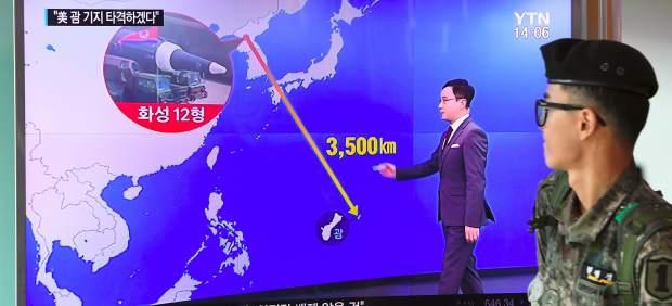 La amenaza de los misiles norcoreanos dispara el turismo en la isla de Guam