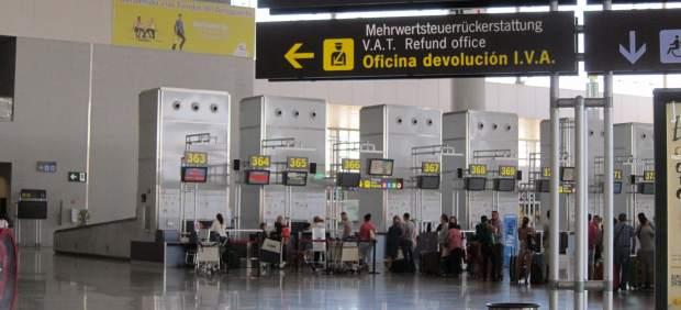 Aeropuerto en Españac