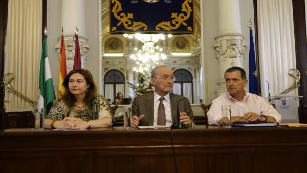 El Ayuntamiento De Málaga Informa: Se Destinan Más De 2,3 Millones De Euros A Me