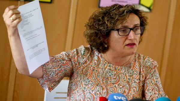 Francisca Granados, asesora jurídica de Maracena en el caso de Juana Rivas