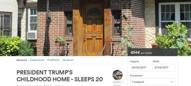 Casa de la infancia de Trump