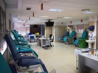 Instalaciones del Hospital de Alcalá de Henares