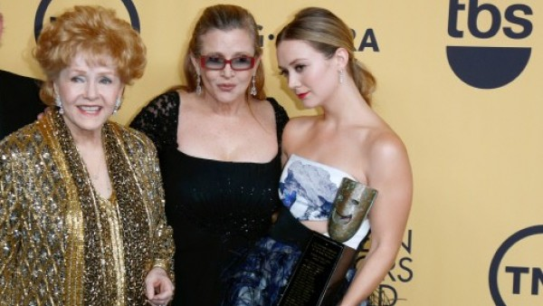 Carrie Fisher y Billie Lourd