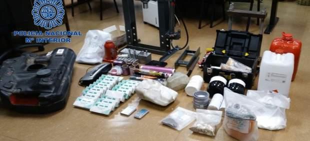 Desarticula grupo de narcotraficantes en Madrid