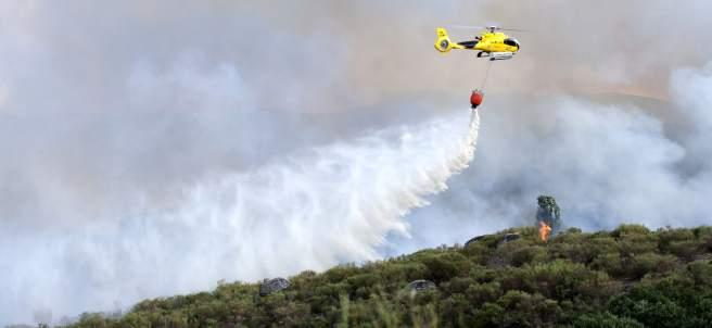 Incendio en Navarredonda de Gredos