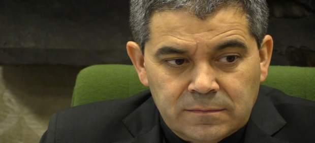 El vicario de la Diócesis de Burgos Vicente Rebollo