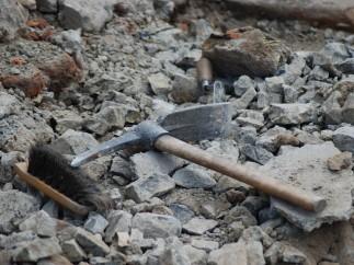 Herramientas de los arqueólogos