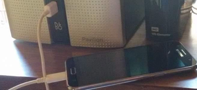 Carga con USB