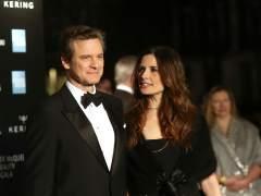 Colin Firth y Livia Giuggioli