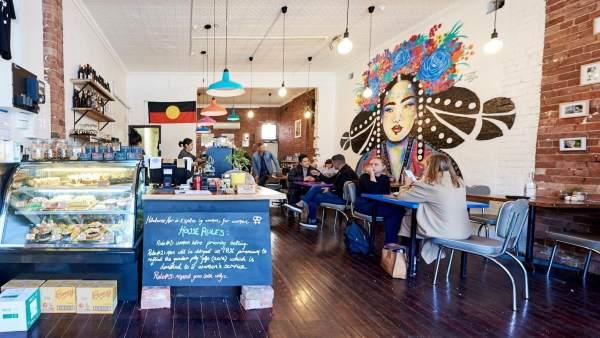 La cafetería Handsome Her