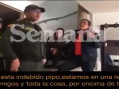 El seleccionador de Honduras agrede a su hija