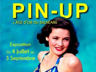 Cartel de la exposición 'Pin-Up. L'âge d'or du balnéaire'