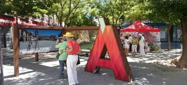 Aragón se promociona como destino turístico durante las fiestas de San Lorenzo.