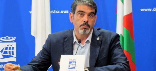 El alcalde de Donostia, Eneko Goia