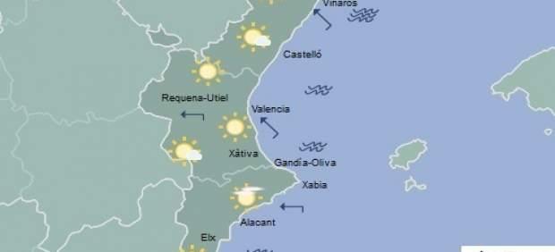 El sol predominará en toda la región