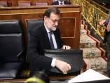 Mariano Rajoy, en su escaño