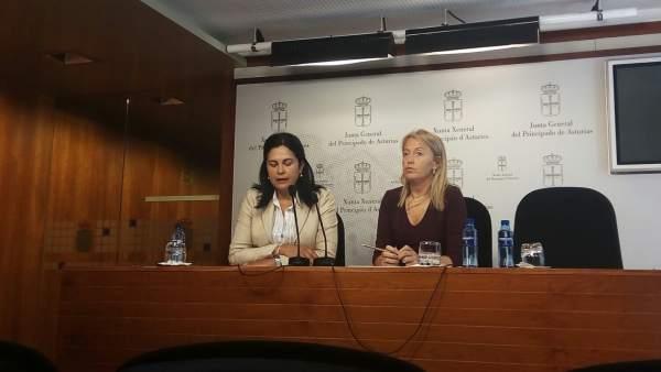 Carmen Fernández y Cristina Coto