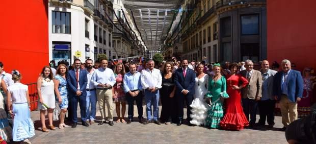 Feria de Málaga Carnero PSOE delegados Junta verano centro Agosto portada