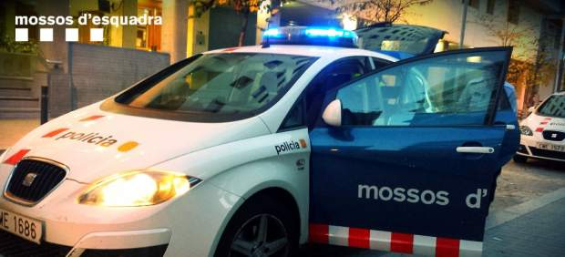 Vehículo de los Mossos d'Esquadra