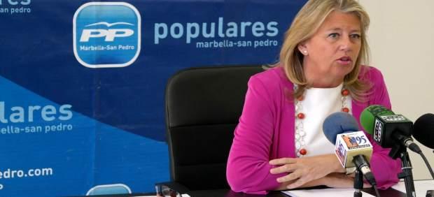La candidata del PP a la alcaldía de Marbella Ángeles Muñoz