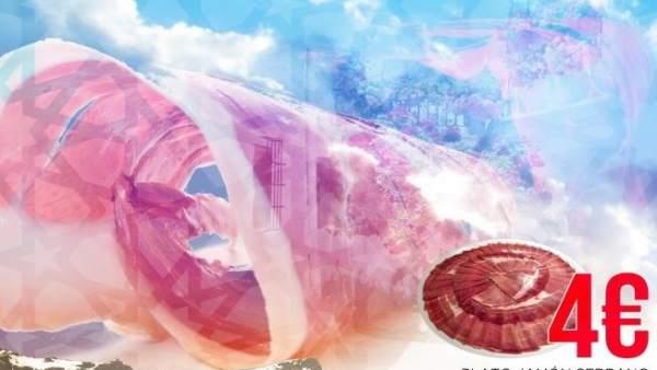 Cartel del concurso de cortadores de jamón