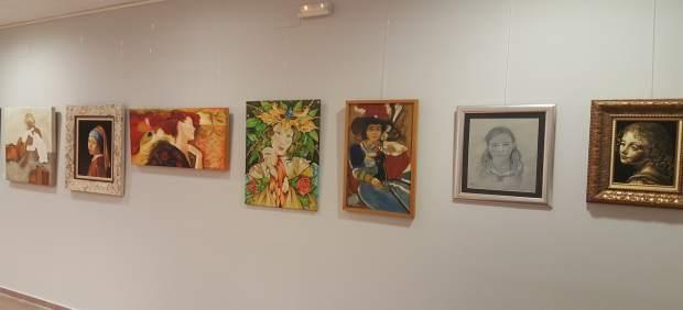 Algunas de las obras que acoge la exposición