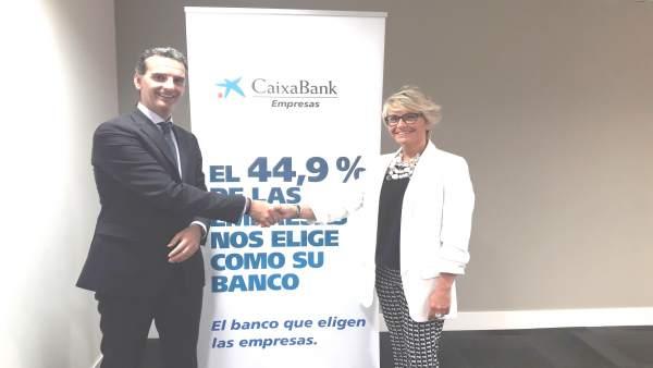 José Luis Larríu y Silvia Ezquerra