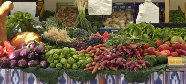 Mercado fruta y verdura mallorquín