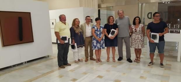 La consellera Fanny Tur en la inauguración de la exposición de Bechtold