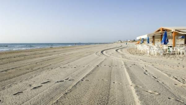 Playa Las Higuericas en Pilar de la Horadada