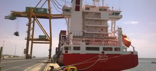 Np El Puerto De Huelva Recibe Esta Semana Cinco Buques De Contenedores En La Ter