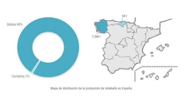 Producción de rodaballo en España