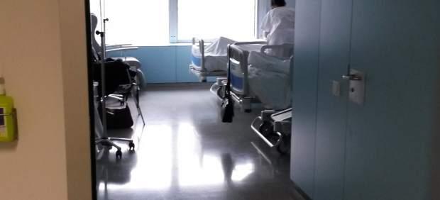 Una de las habitaciones del nue Hospital Universitario Central de Asturias, HUCA