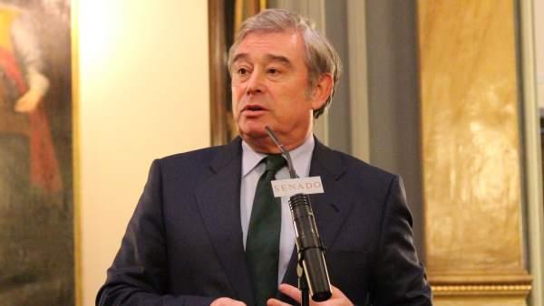 José Manuel Barreiro, portavoz del PP en el Senado